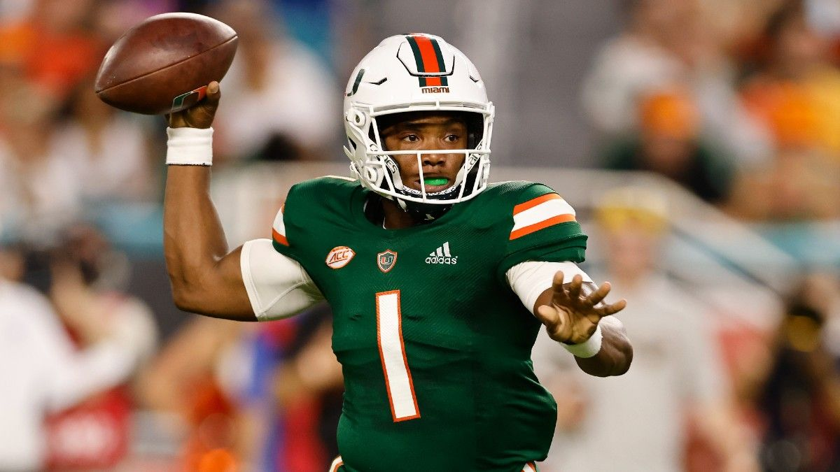 Miami vs. Michigan State College Football Odds, Picks, Predictions: Your Betting Guide for Saturday's Week 3 Battle (Sept. 18) article feature image
