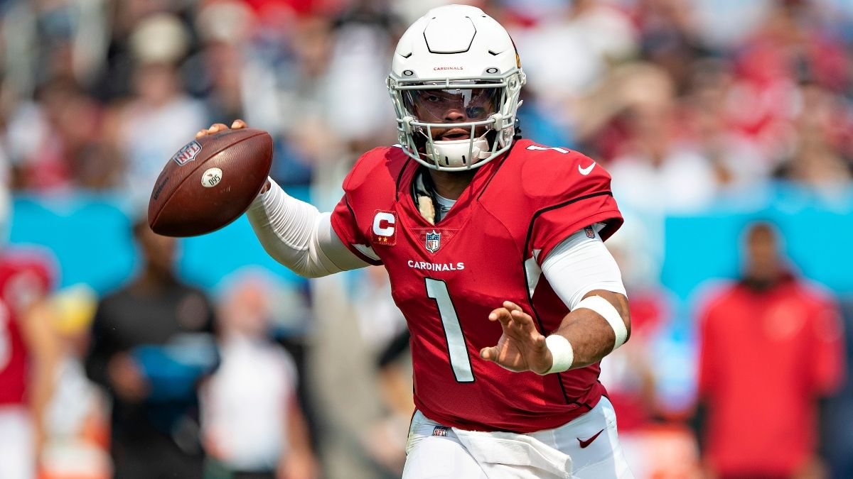 Cardinals vs. 49ers Odds, Promo: Bet $20, Win $205 if Kyler Murray Completes a Pass! article feature image