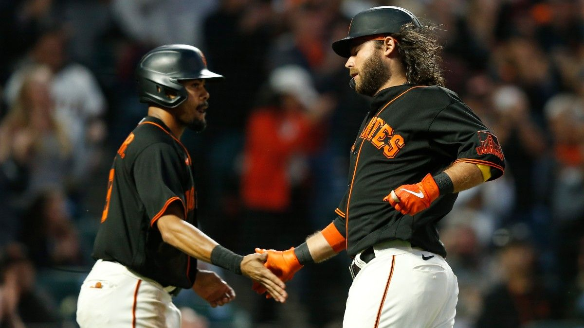 Sunday MLB Odds, Preview, Prediction for Braves vs. Giants: San Francisco Seeking Sweep to Solidify Division Lead (Sept. 19) article feature image