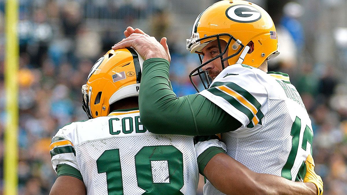 NFL Prop Picks For Monday Night Football: Aaron Rodgers & More PrizePicks Plays For Lions vs. Packers article feature image