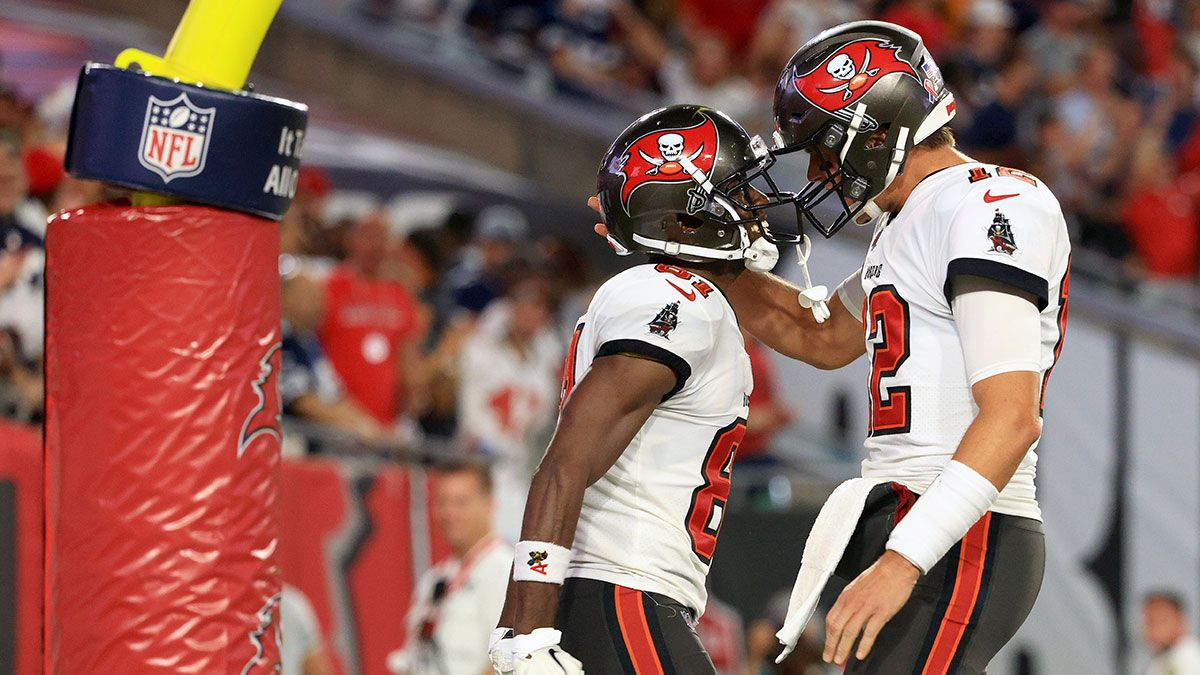 Bucs vs. Falcons Odds, NFL Predictions, Week 2 Preview: This Antonio Brown Prop Is Offering Betting Value article feature image