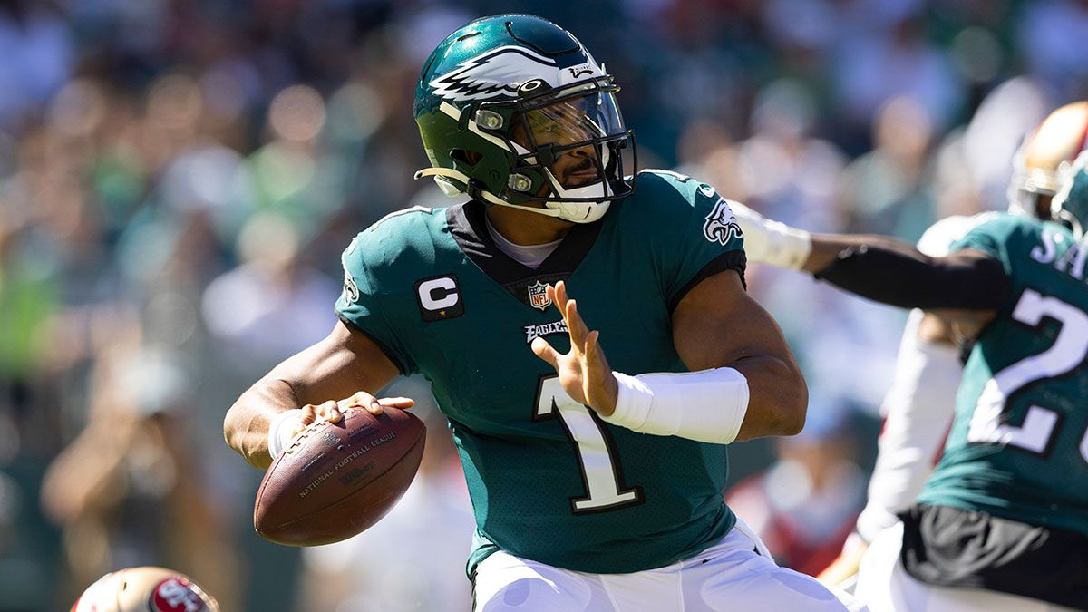 Eagles vs. Panthers Odds, Promos: Bet $10, Win $200 if Jalen Hurts Throws for 1+ Yard, More! article feature image