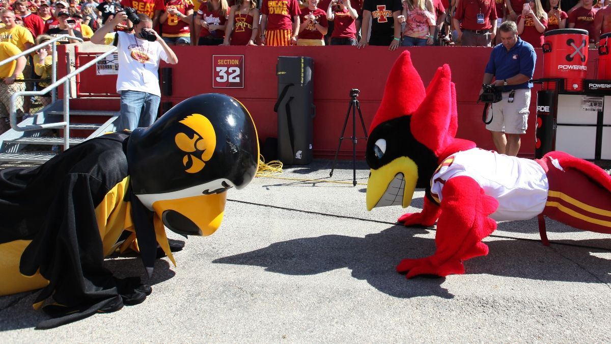 Iowa State vs. Iowa Promos: Win $120 if Either Team Covers +50, Much More! article feature image