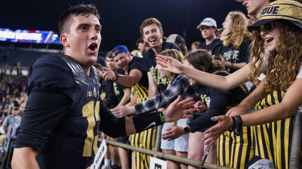 College Football Odds & Picks for Illinois vs. Purdue: Boilermakers' Train To Keep Chugging article feature image