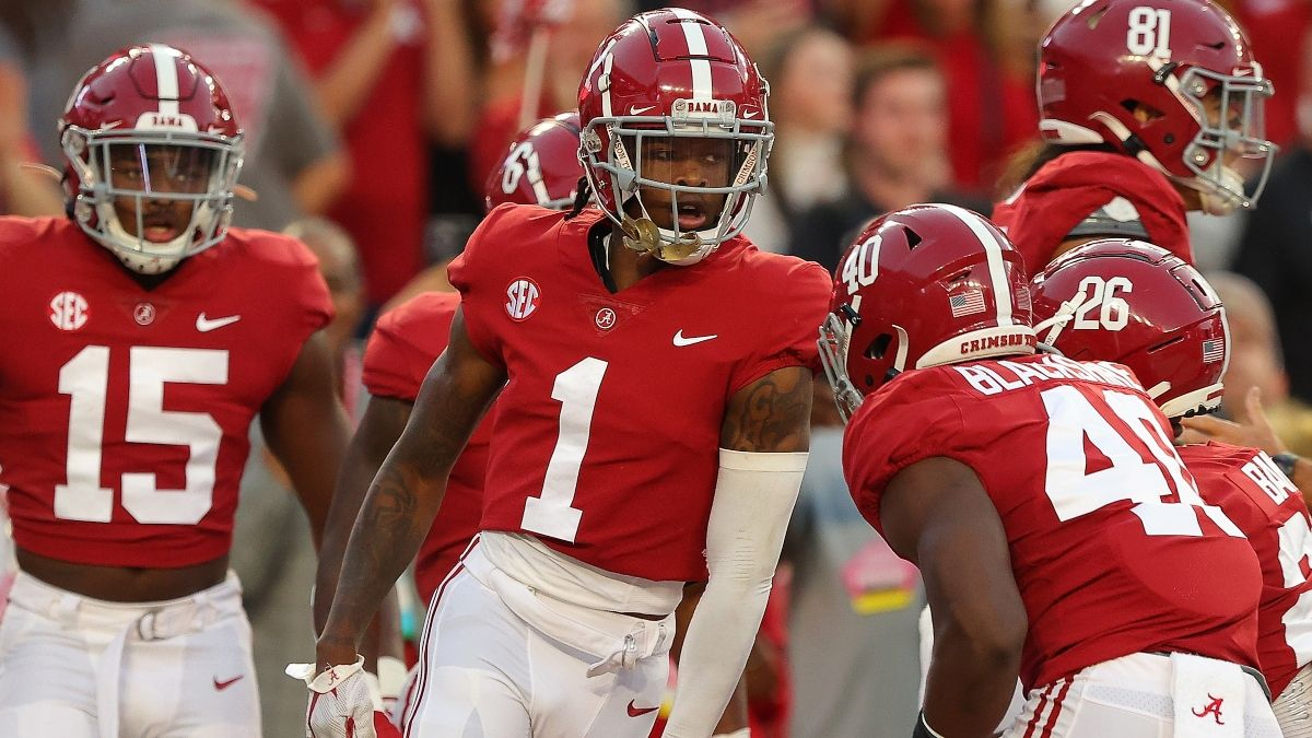 Alabama vs. Tennessee Odds, Promo: Bet $1, Win $100 if Alabama Scores a TD! article feature image