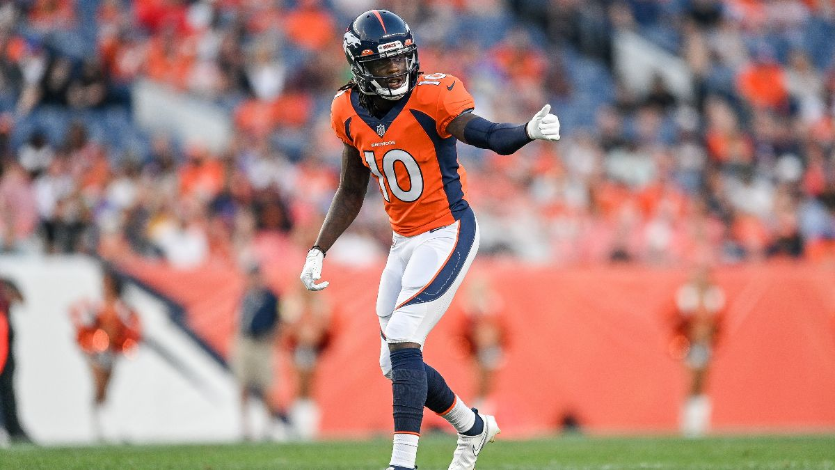 Broncos vs. Jets Odds, Promo: Bet $10, Win $200 if the Broncos Score a Touchdown! article feature image
