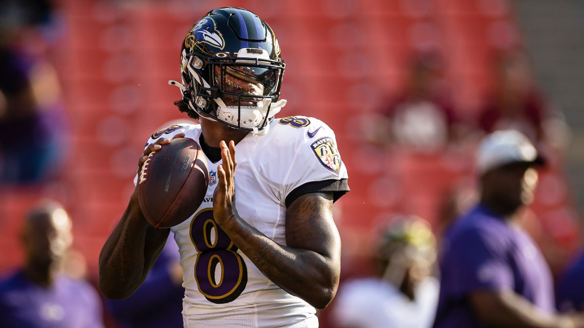 Ravens vs. Raiders Odds, Promo: Win $200 if the Ravens Scores a Touchdown! article feature image