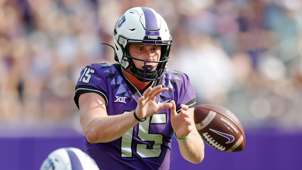 College Football Odds & Picks for SMU vs. TCU: Horned Frogs To Roll Through Mustangs article feature image