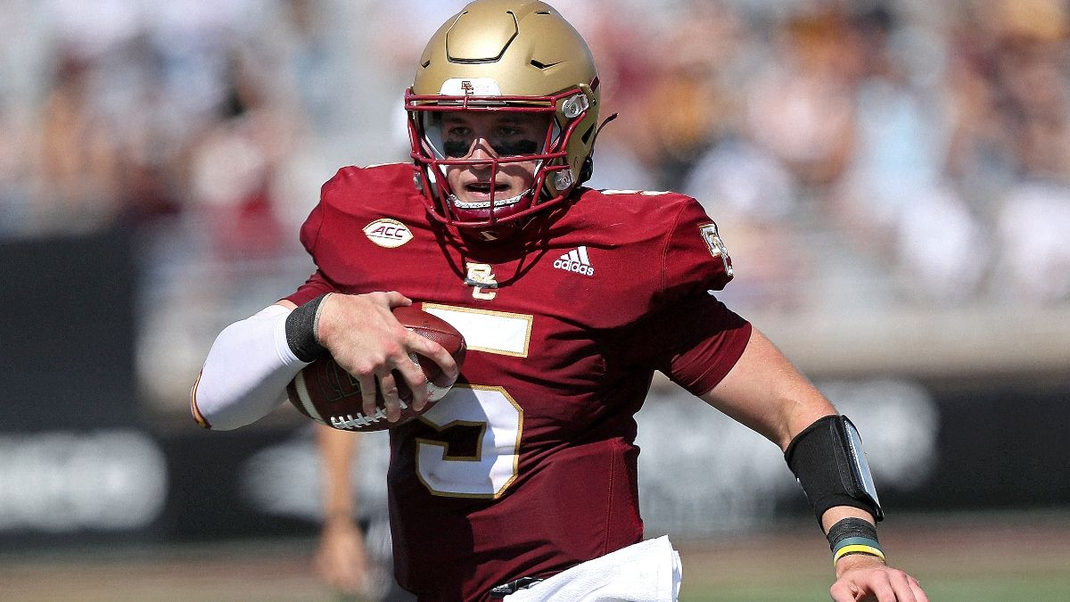 Betting Odds & Pick for Boston College vs. UMass: Eagles Will Score, Minutemen Will Not (Sept. 11) article feature image