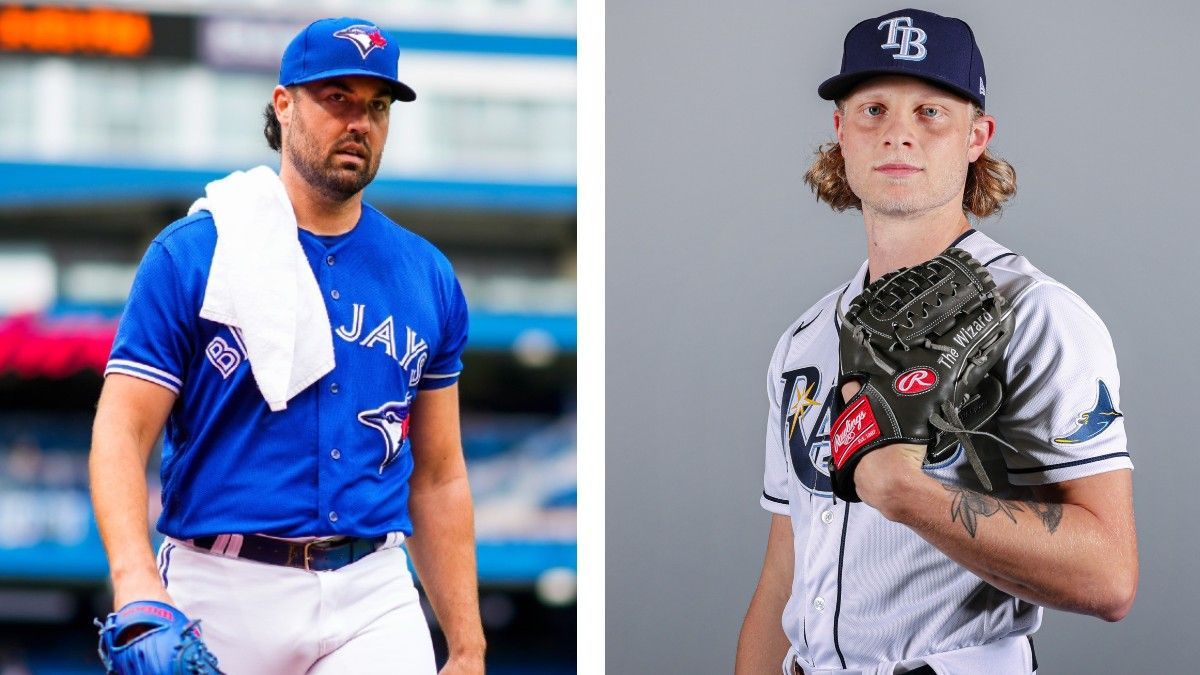 Blue Jays vs. Rays Betting Odds, Pick, Prediction: Elite Pitching Matchup on Monday Night article feature image