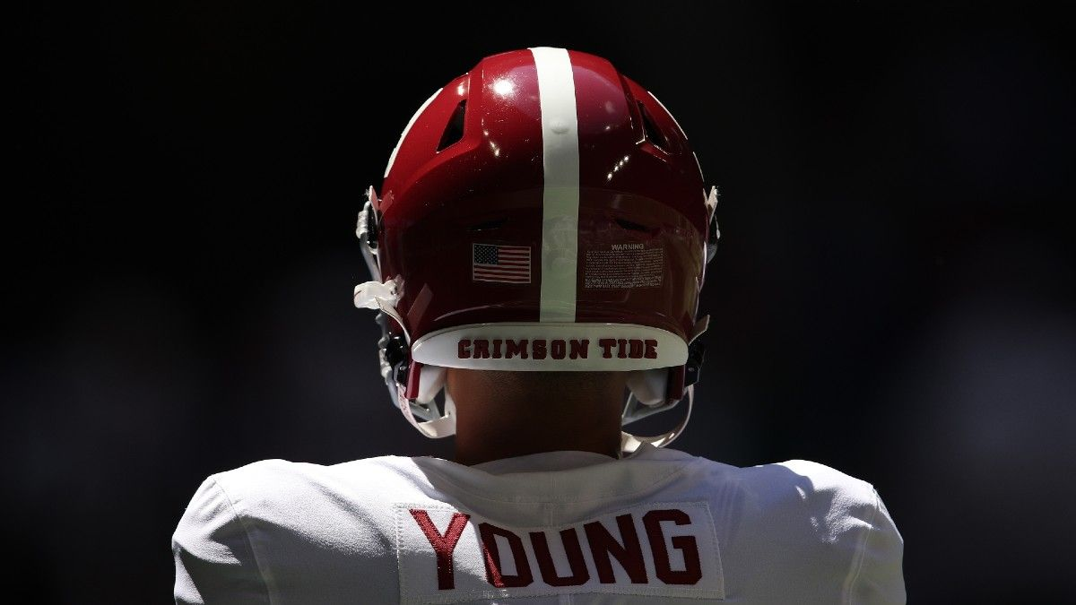 2021 Heisman Trophy Power Rankings: Bryce Young Leads the Way as New Betting Favorite After Week 1 article feature image