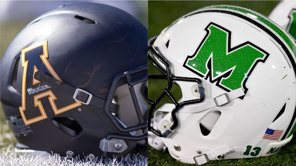 Marshall vs. Appalachian State Odds, Promo: Bet $10, Win $200 Either Team Scores a Touchdown! article feature image