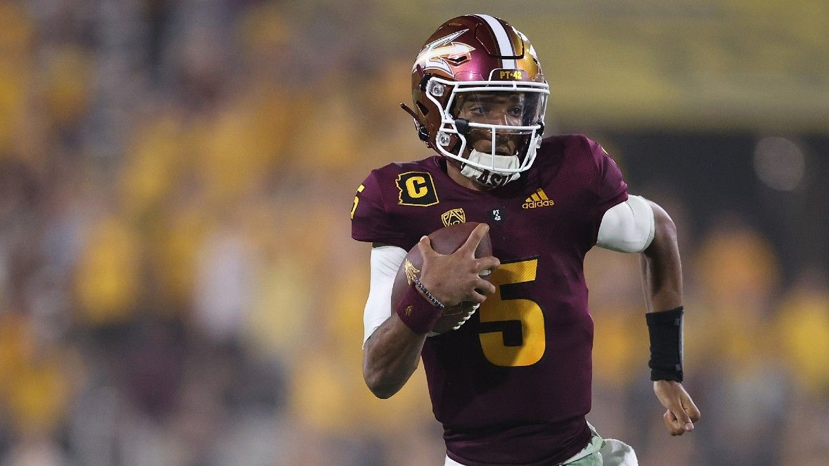 Arizona State vs. Colorado Odds, Picks, Predictions: Why to Bet the Sun Devils to Dominate (Saturday, Sept. 25) article feature image