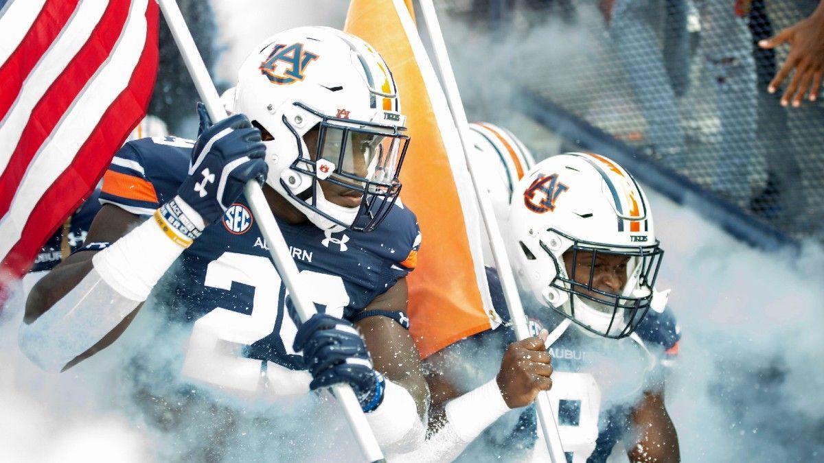 Week 5 College Football Odds, Picks: Collin Wilson's Betting Card, Including Arkansas vs. Georgia & Auburn vs. LSU (Oct. 2) article feature image