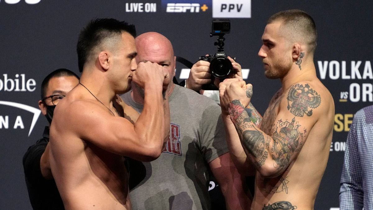 UFC 266 Odds, Pick & Prediction: Cody Brundage vs. Nick Maximov (Saturday, September 25) article feature image