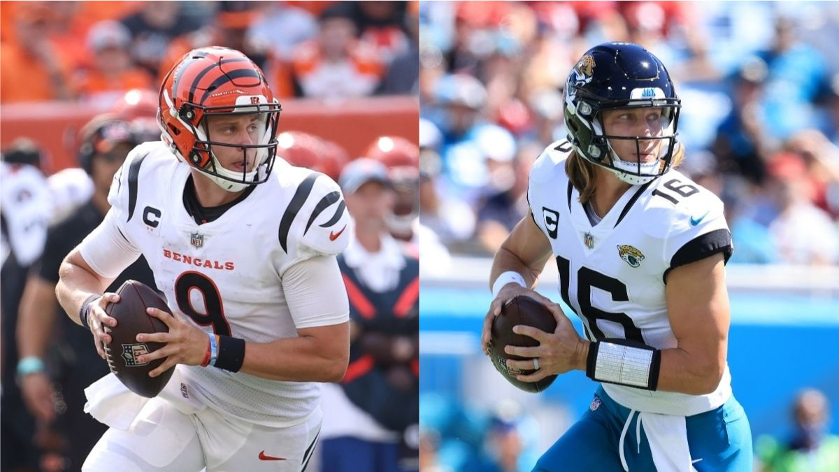 Bengals vs. Jaguars Odds, Promo: Bet $20, Win $205 if Burrow or Lawrence Completes a Pass! article feature image
