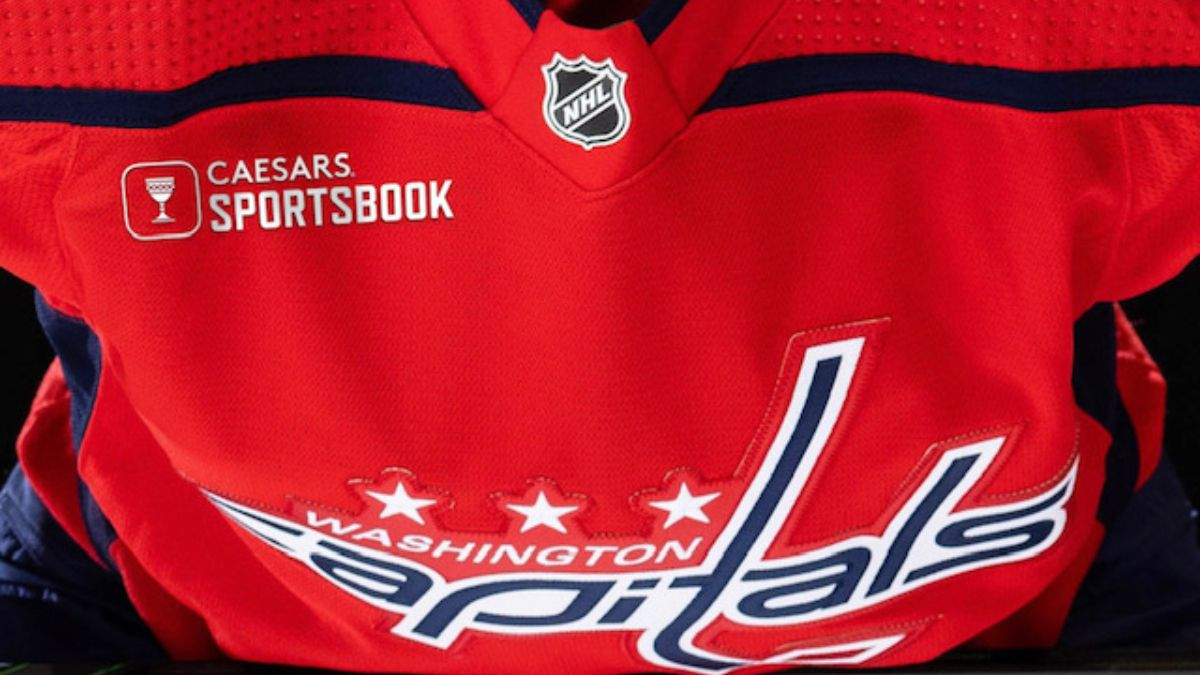 Caesars Sportsbook Makes American Major Sports History With Patch on Washington Capitals Jersey article feature image