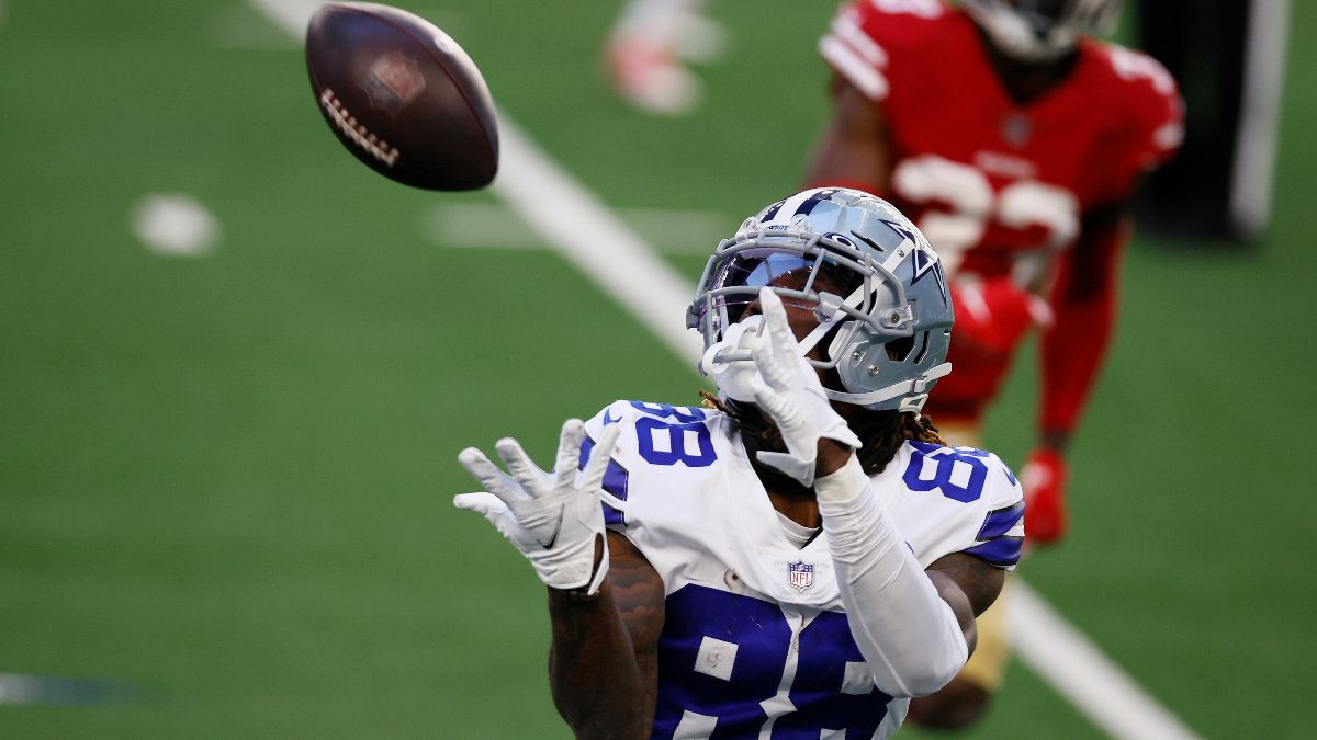NFL Betting Odds, Picks & Preview: Who Will Lead the NFL in Receptions in 2021? article feature image