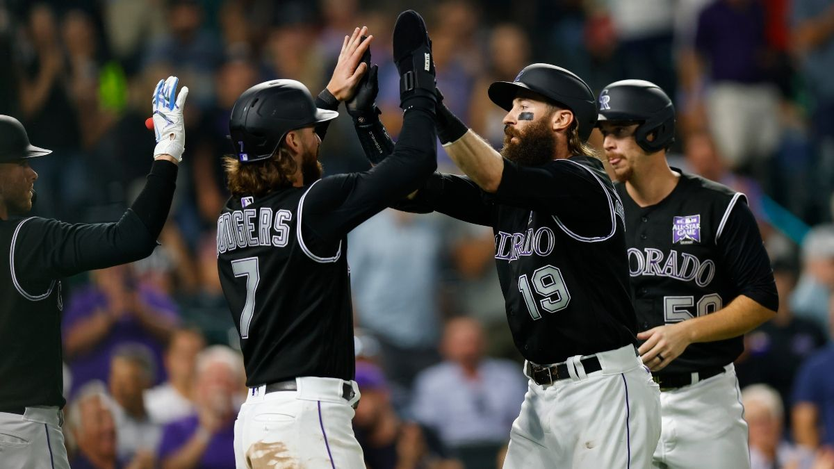 MLB Odds, Picks & Predictions for Giants vs. Rockies: How Sharps Are Betting Monday's Labor Day Matchup article feature image