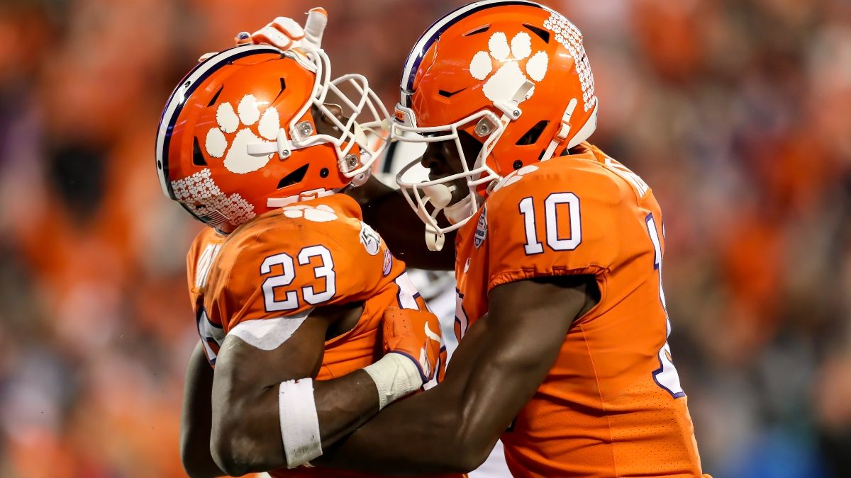 Clemson vs. Georgia Odds, Promo: Get a $500 Risk-Free Bet on Either Team article feature image