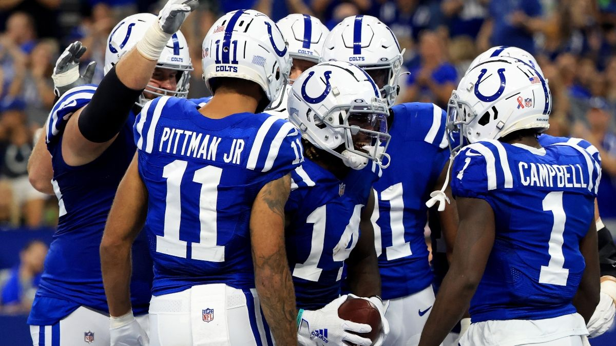 Colts vs. Rams Odds, Promo: Bet $10, Win $200 if the Colts Score a Touchdown! article feature image