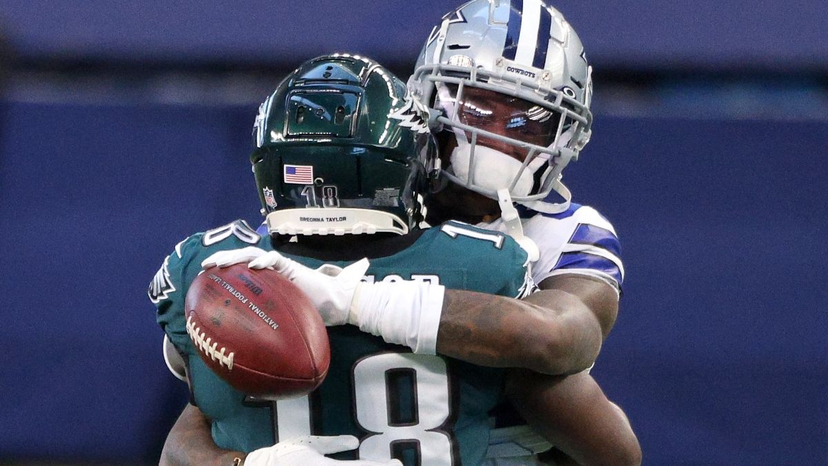 Cowboys vs. Eagles Odds, Promo: Bet $1, Win $100 if Either Team Scores a TD! article feature image