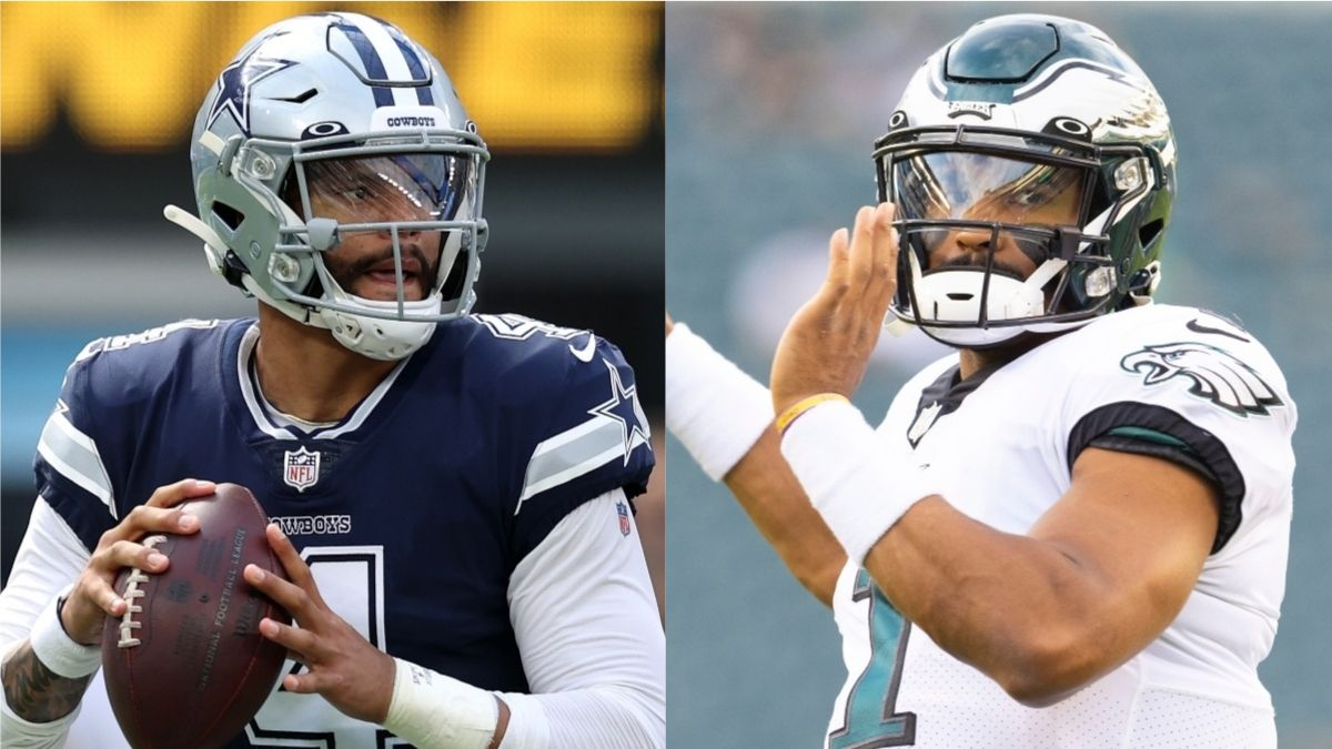 Cowboys vs. Eagles Odds, Promo: Bet $20, Win $205 if Prescott or Hurts Complete a Pass! article feature image