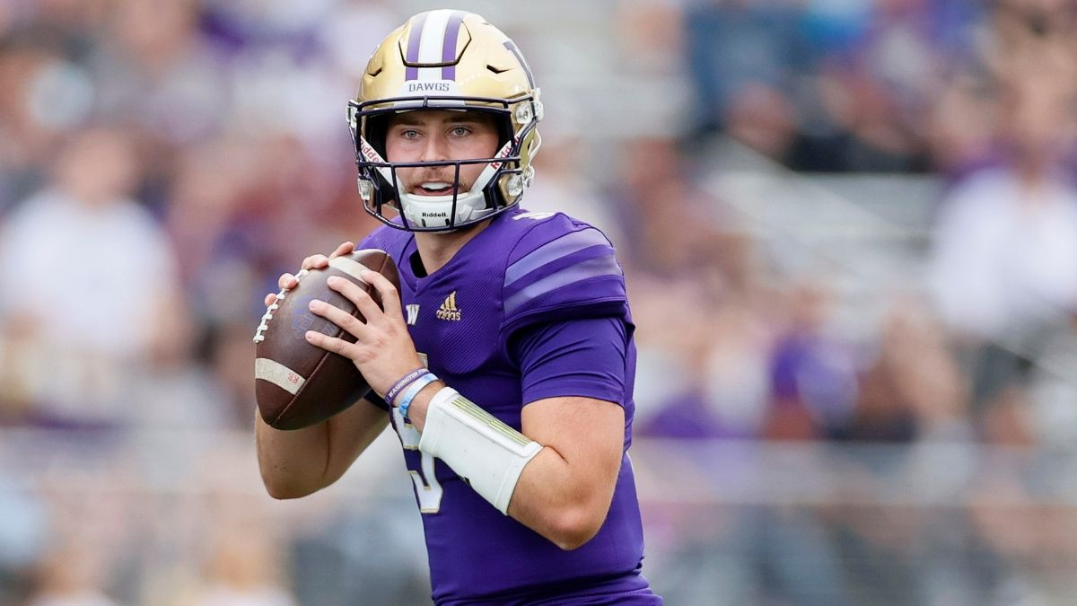 Washington vs. Michigan Betting Odds, Prediction, Pick: Why the Huskies are the Play in College Football Week 2 article feature image