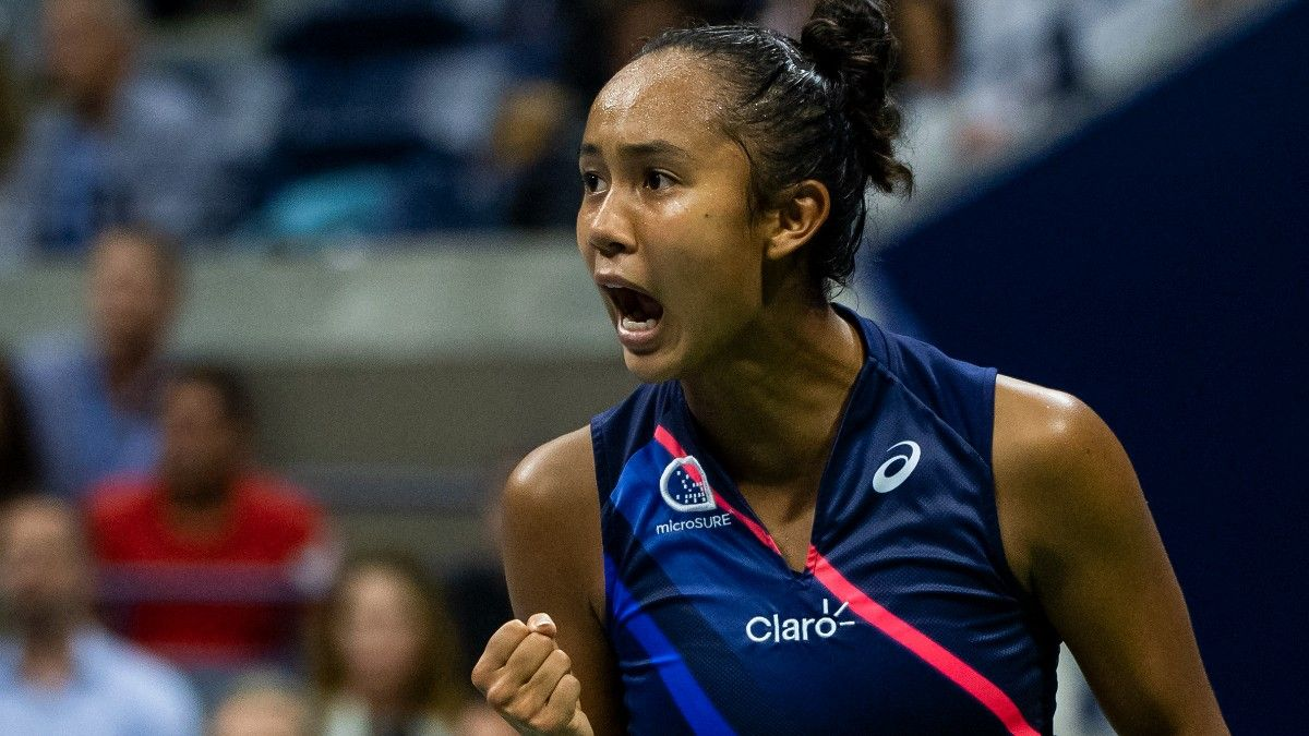 Teen Sensations Leylah Fernandez, Emma Raducanu Aiming to Make History at US Open (Sept. 11) article feature image