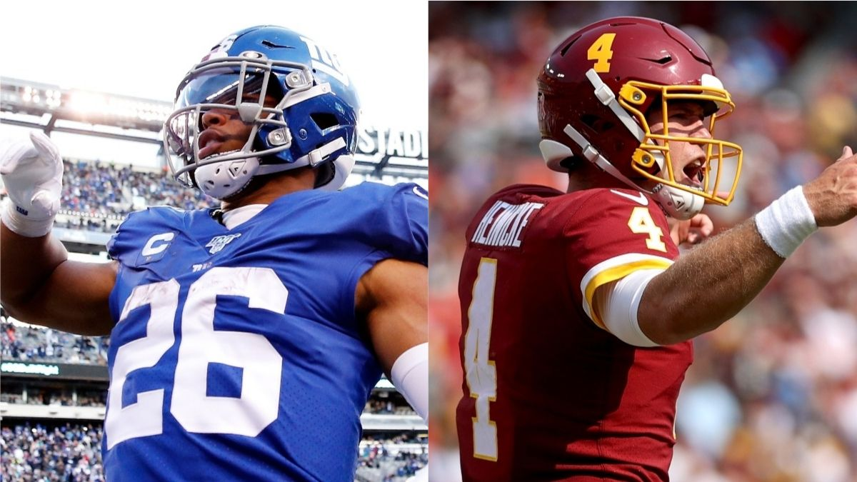 Giants vs. Washington Odds, Promo: Bet $25, Win $125 if Either Team Scores  a TD!
