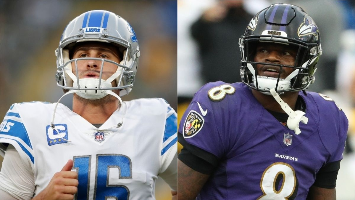 Lions vs. Ravens Odds, Promos: Bet $10, Win $200 if Either Team Scores a Touchdown, and More! article feature image