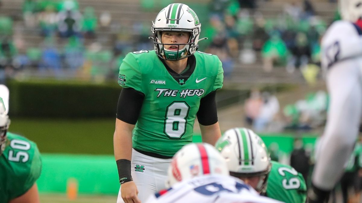 College Football Odds, Picks, Predictions for Marshall vs. Middle Tennessee: Betting Guide For Conference USA Duel article feature image