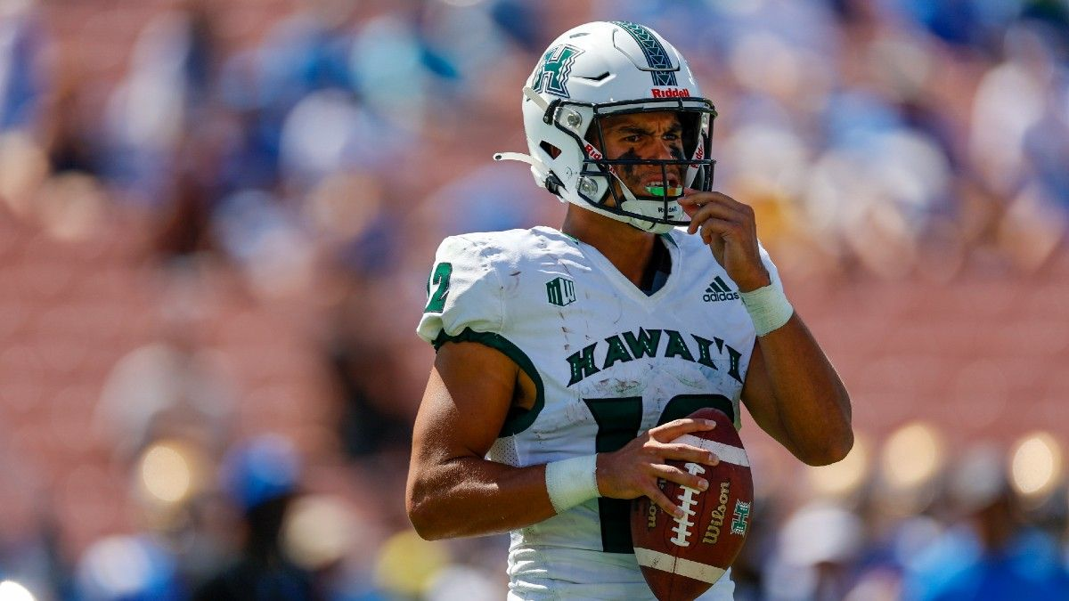 College Football Odds & Pick for Hawaii vs. Oregon State: Pac-12 After Dark Betting Preview (September 11) article feature image