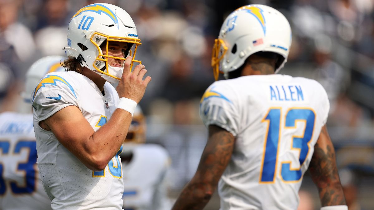 The Rundown's NFL Bet of the Week: Chargers Will Put Points on the Board vs. Chiefs article feature image