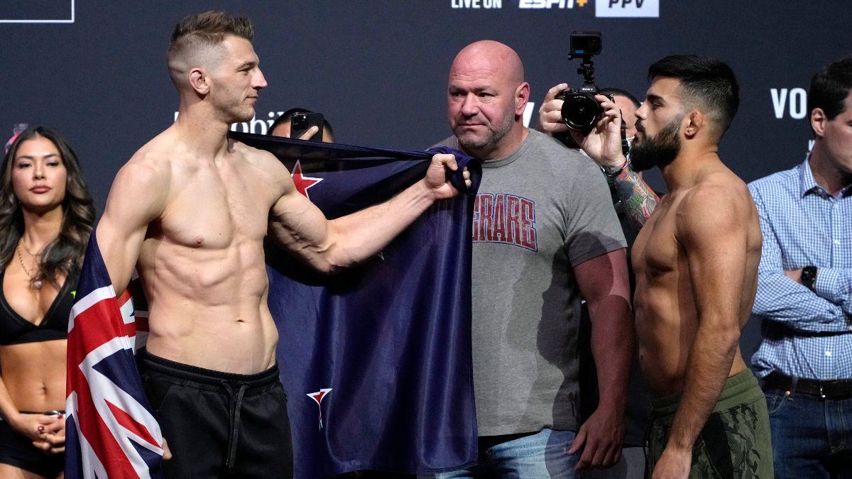 Dan Hooker vs. Nasrat Haqparast UFC 266 Odds, Pick & Prediction: 2 Ways to Bet Lightweight Matchup (Sept. 25) article feature image