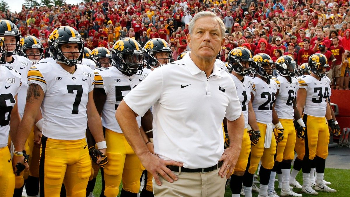 College Football Week 2 Best Bets for Iowa State vs. Iowa: Cy-Hawk Trophy Winner Highlights 5 Top Bets (Sept. 11) article feature image