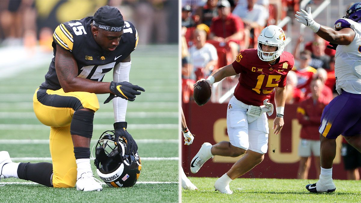 Iowa v. Iowa State Odds: Hawkeyes Spread Has Most Money, Tickets Heading Into College Football Week 2 article feature image