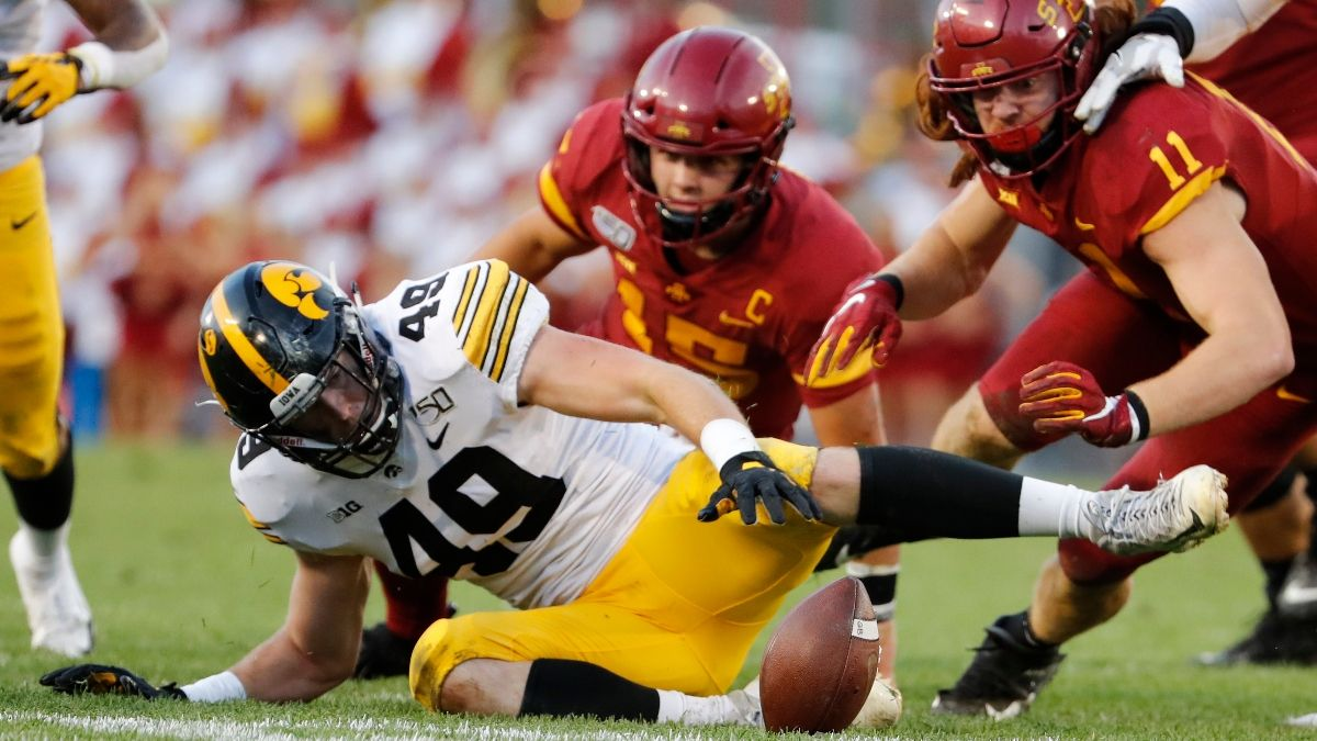 College Football Week 2 Promos: Win $250 if Iowa or ISU Scores a Touchdown, and More! article feature image