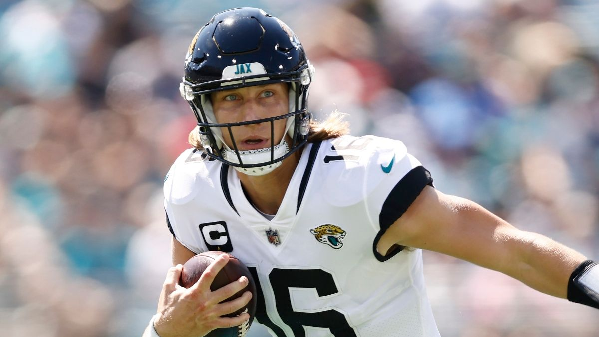 Jaguars vs. Bengals Props: Bet This Trevor Lawrence Over For Thursday Night Football? Our Expert Thinks So article feature image