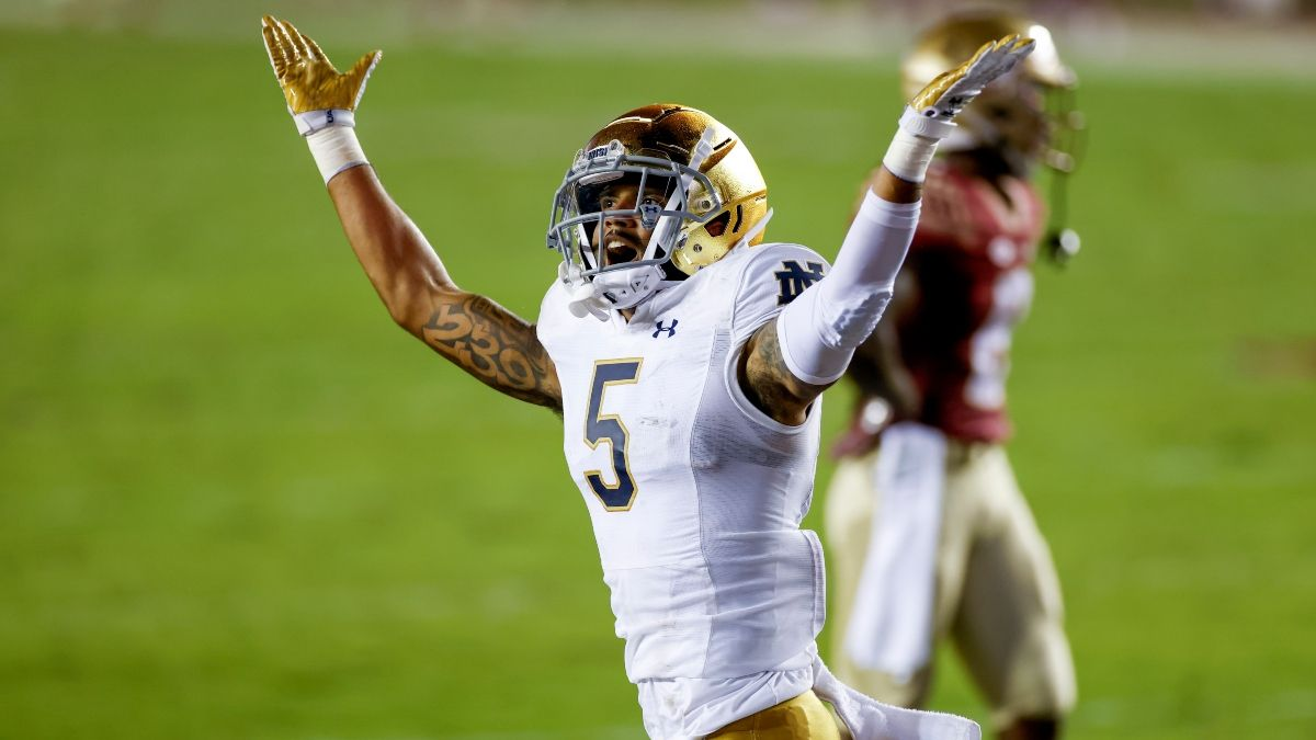 College Football Odds & Betting Picks: Model Value on Toledo-Notre Dame, South Carolina-ECU, More article feature image