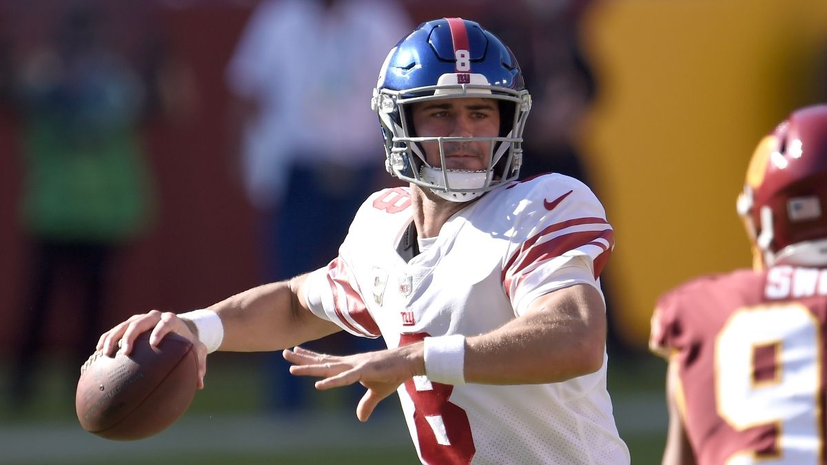 Giants-WFT Promos: Win $205 if Daniel Jones Completes a Pass, More! article feature image