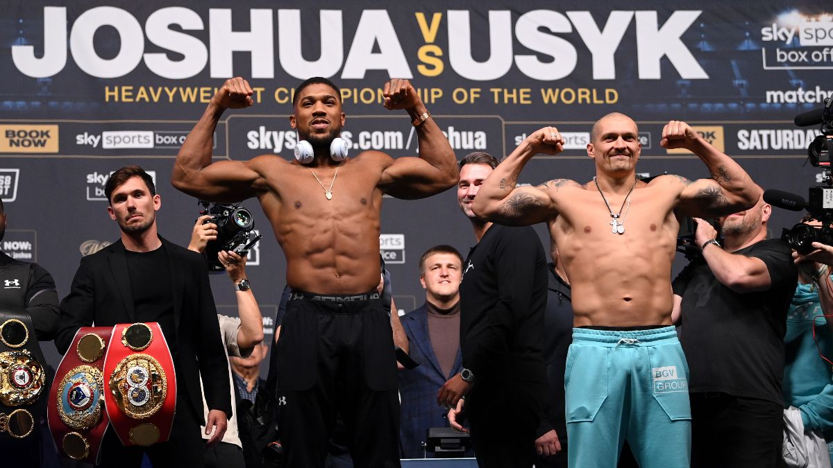Anthony Joshua vs. Oleksandr Usyk Odds, Boxing Picks & Predictions: Will AJ Retain the Heavyweight Title? (Saturday, September, 25) article feature image
