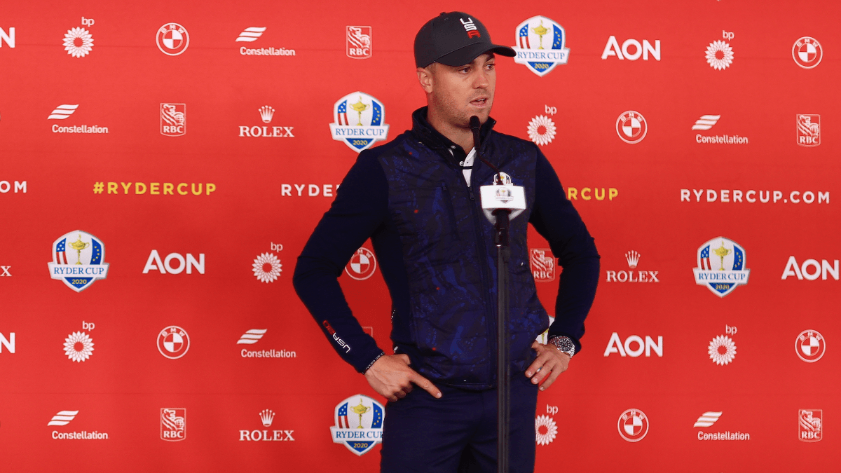 2021 Ryder Cup Betting Odds: Justin Thomas & Jon Rahm Favored To Be Highest Scorers article feature image