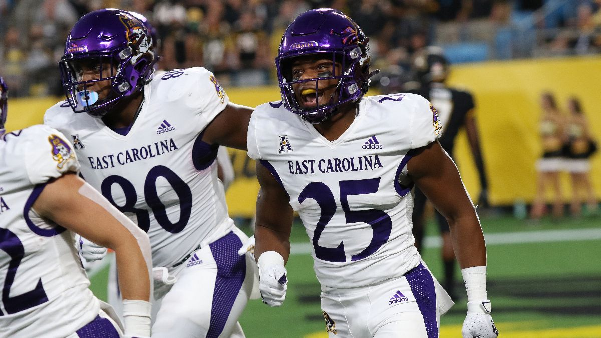 College Football Week 2 Underdog Odds & Picks: Our Favorite Moneyline Bets, Including East Carolina & Troy article feature image