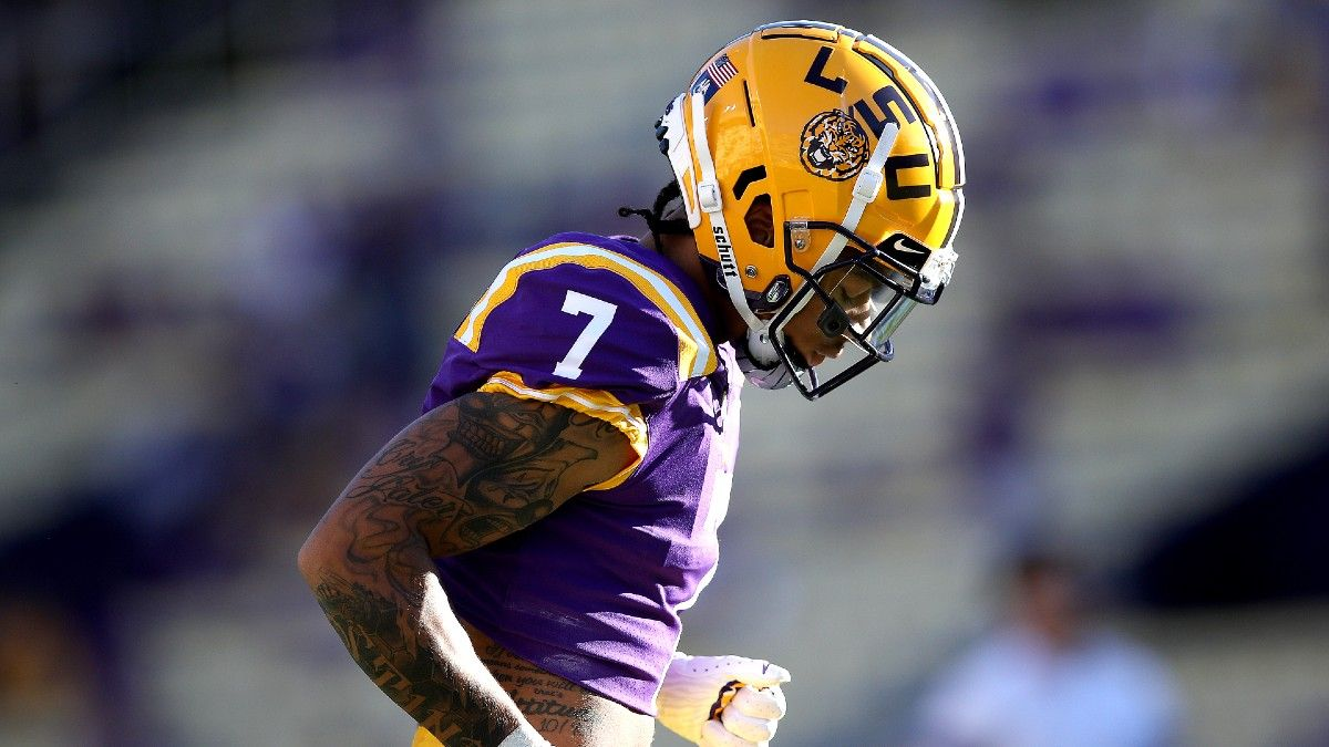 College Football Odds, Picks, Predictions: The Over/Under Bet to Make for LSU vs. Mississippi State (Sept. 25) article feature image