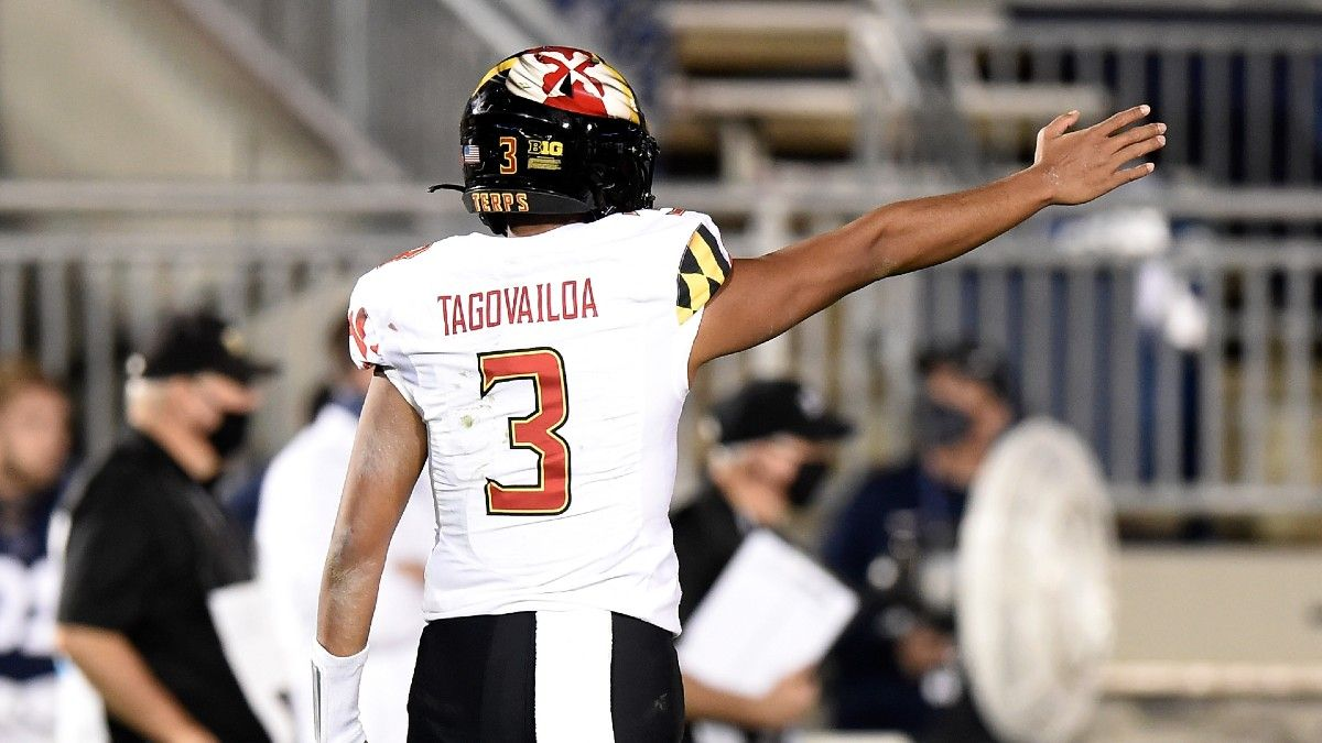 Maryland vs. Illinois College Football Odds & Pick: How to Bet Friday's Big Ten Battle (Sept. 17) article feature image