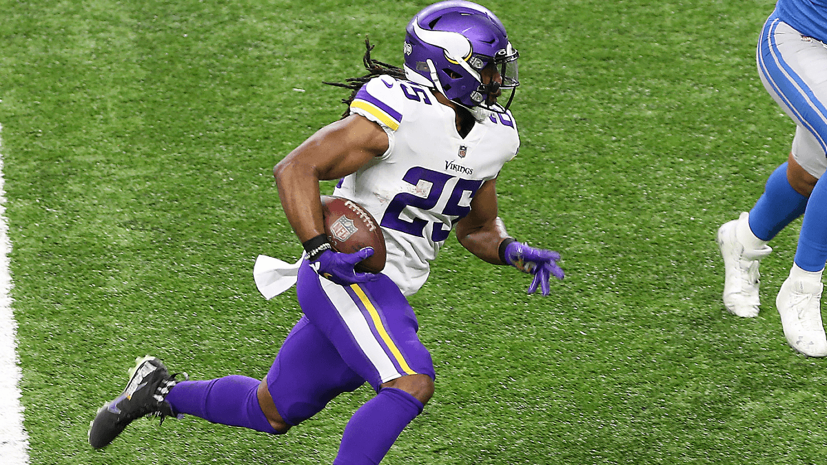 Alexander Mattison Fantasy Rankings & Advice: Vikings RB Moves Into Top-20 With Dalvin Cook Unlikely to Play vs. Seahawks article feature image