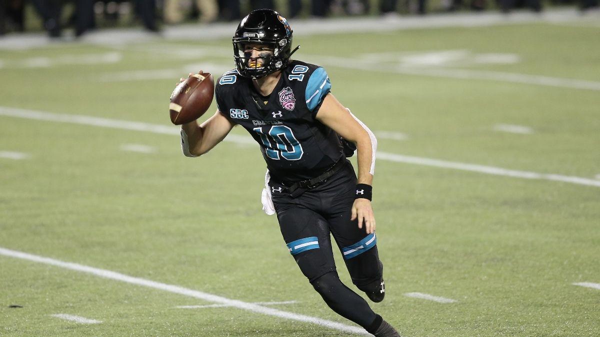 Coastal Carolina vs. Buffalo College Football Betting Odds & Pick: Will the Game Resemble Old-School Big Ten Football? article feature image