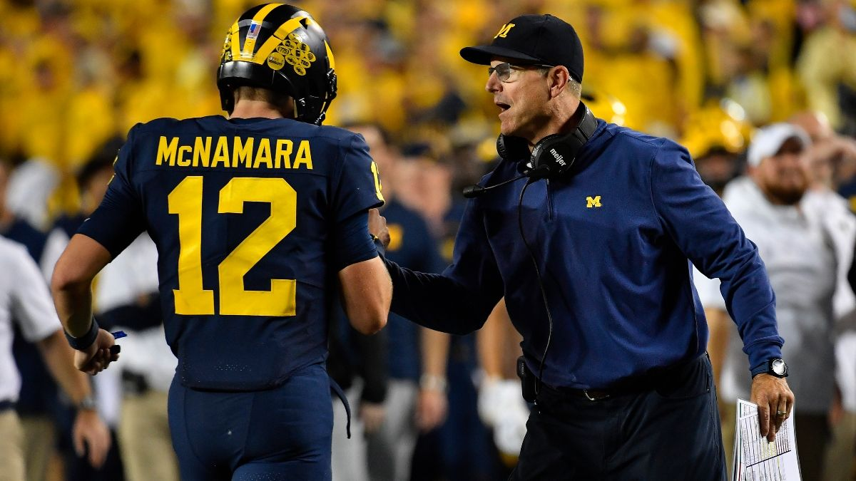 College Football Odds, Picks, Predictions for Rutgers vs. Michigan: How to Bet Saturday's Big Ten Matchup article feature image