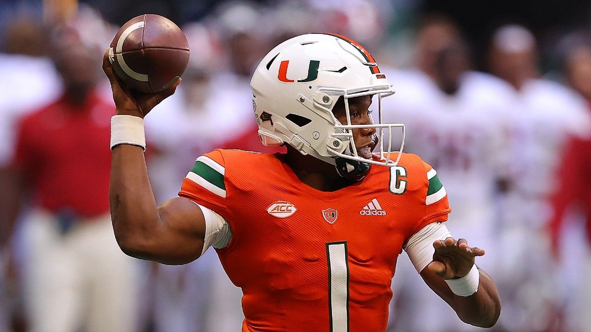 Appalachian State vs. Miami Betting Odds, Prediction, Pick: Can Canes Cover Week 2 Spread? (Sept. 11) article feature image